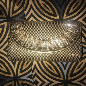 Whiting & Davis vintage evening bag